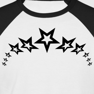 coolstars_necklace_1c T-shirts - Kortærmet herre-baseballshirt