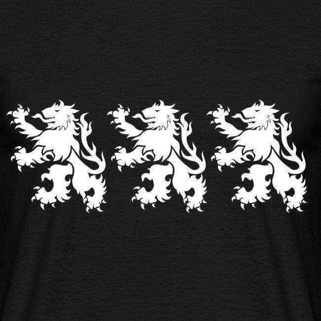3 white lions