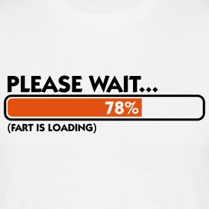 Fart Is Loading (2c)++ T-shirts - Mannen T-shirt
