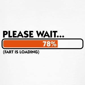 Fart Is Loading (2c)++ T-shirts - Mannen Bio-T-shirt