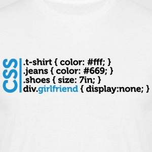 Css Clothes Girlfriend (dd)++ T-shirts - T-shirt Homme