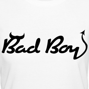 Bad Boy (1c)++ T-shirts - Vrouwen Bio-T-shirt