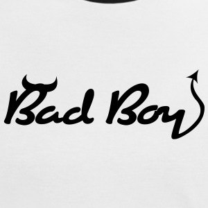Bad Boy (1c)++ T-shirts - Kontrast-T-shirt dam