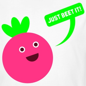JUST BEET IT! T-Shirts - Männer Bio-T-Shirt