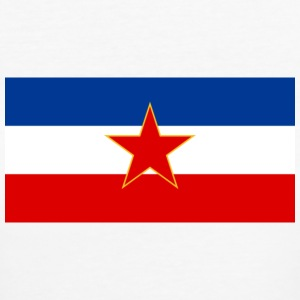 Socialist Federal Republic of Yugoslavia Flag, 1945-1992 - Women's Organic T-shirt