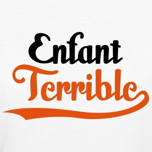 Enfant Terrible (2c)++ T-shirt - T-shirt ecologica da donna