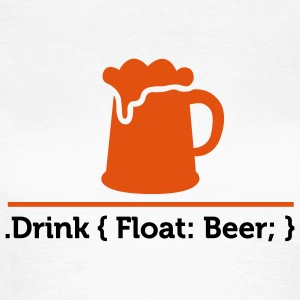 Css Drink Beer 2 (2c)++ T-shirts - Dame-T-shirt