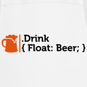 Css Drink Beer (2c)++  Aprons - Cooking Apron