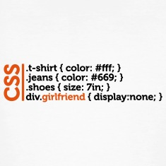 Css Clothes Girlfriend (2c)++ T-Shirts