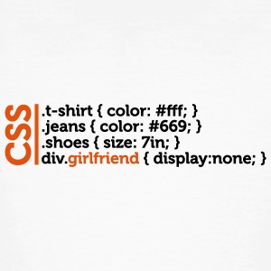 Css Clothes Girlfriend (2c)++ T-shirts - T-shirt bio Homme