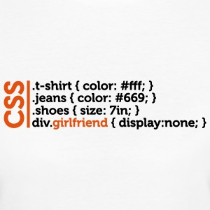 Css Clothes Girlfriend (2c)++ T-Shirts - Women's Organic T-shirt