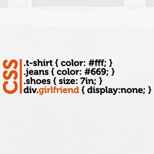 Css Clothes Girlfriend (2c)++ Tassen - Bio stoffen tas