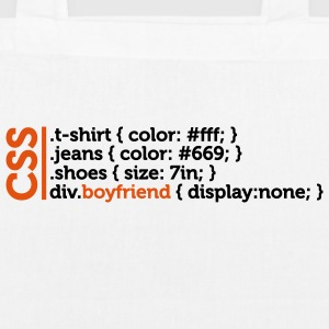 Css Clothes Boyfriend (2c)++ Bags  - EarthPositive Tote Bag