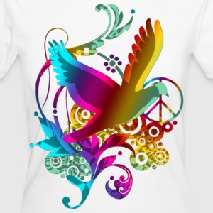 DOVE OF PEACE | Frauenshirt organic - Frauen Bio-T-Shirt