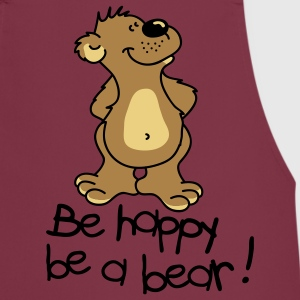 Happy Bear!  Aprons - Cooking Apron