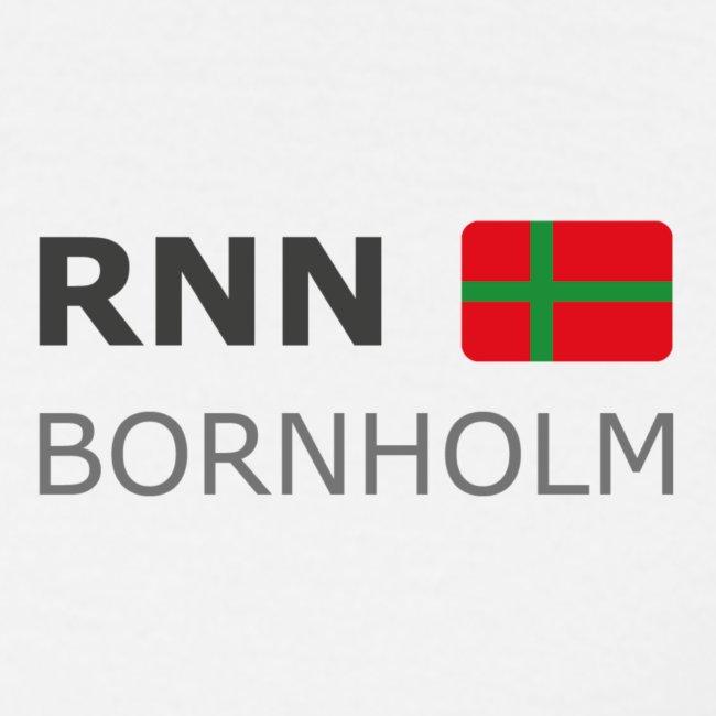 Classic T-Shirt RNN BORNHOLM dark-lettered