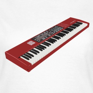 Synthesizer Electro Keyboard Design. T-Shirts - Frauen T-Shirt