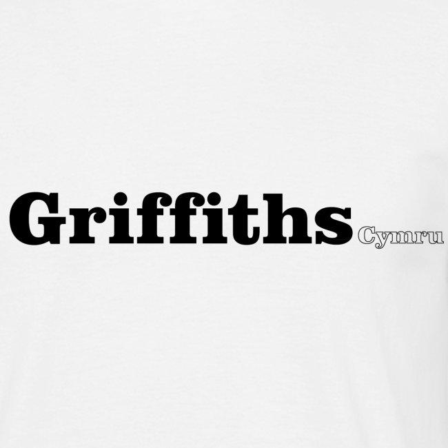 Griffiths Cymru black text