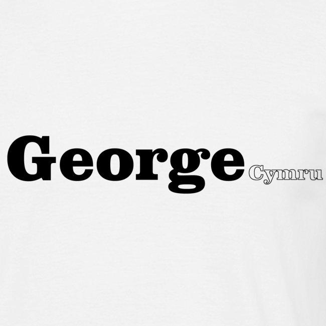 George Cymru black text