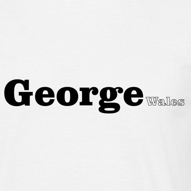 George Wales black text