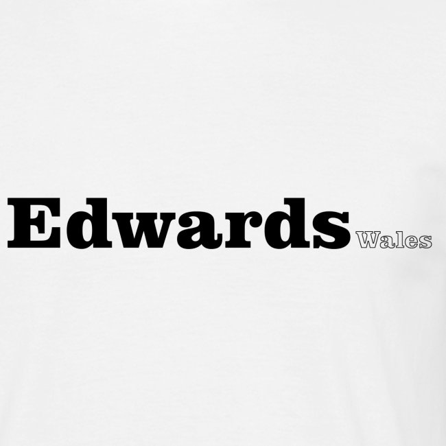 Edwards Wales black text