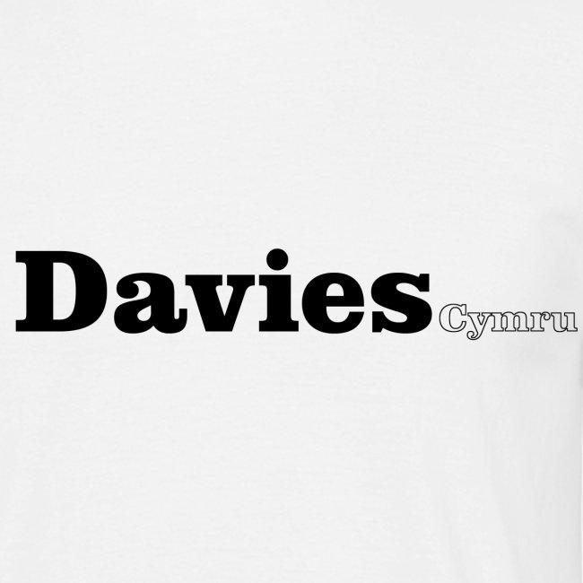 Davies Cymru black text