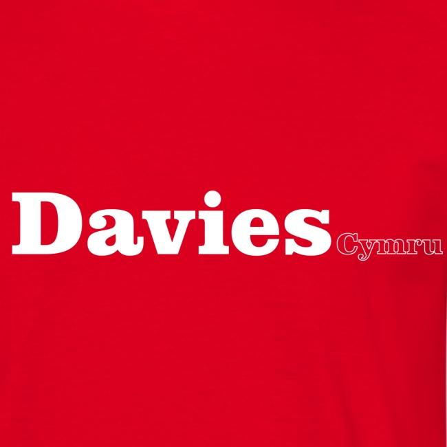 Davies Cymru white text