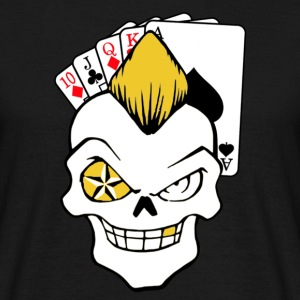 pokerface - Männer T-Shirt