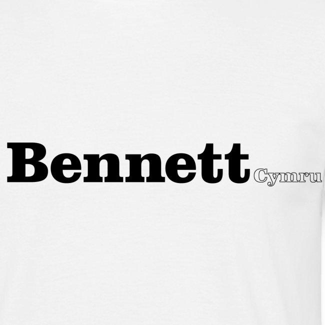 Bennett Cymru black text