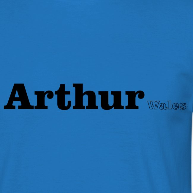 Arthur Wales black text
