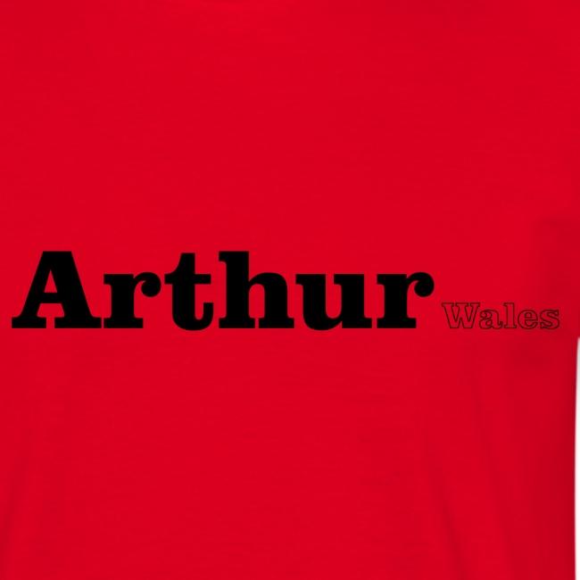 Arthur Wales black text