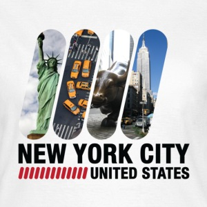 New York City (dd)++ T-Shirts - Women's T-Shirt