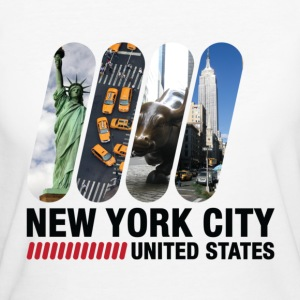 New York City (dd)++ T-Shirts - Women's Organic T-shirt