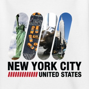 New York City (dd)++ Kinder shirts - Teenager T-shirt