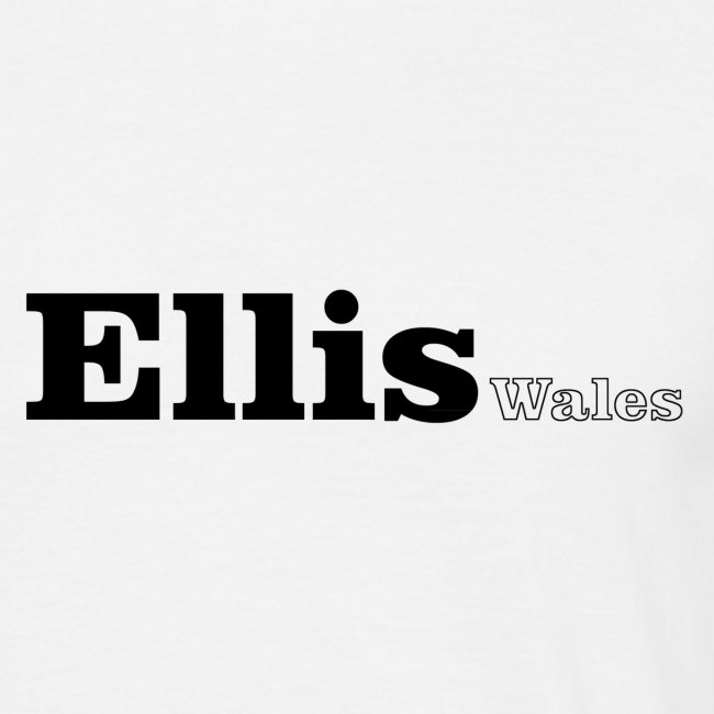 Ellis Wales  black text