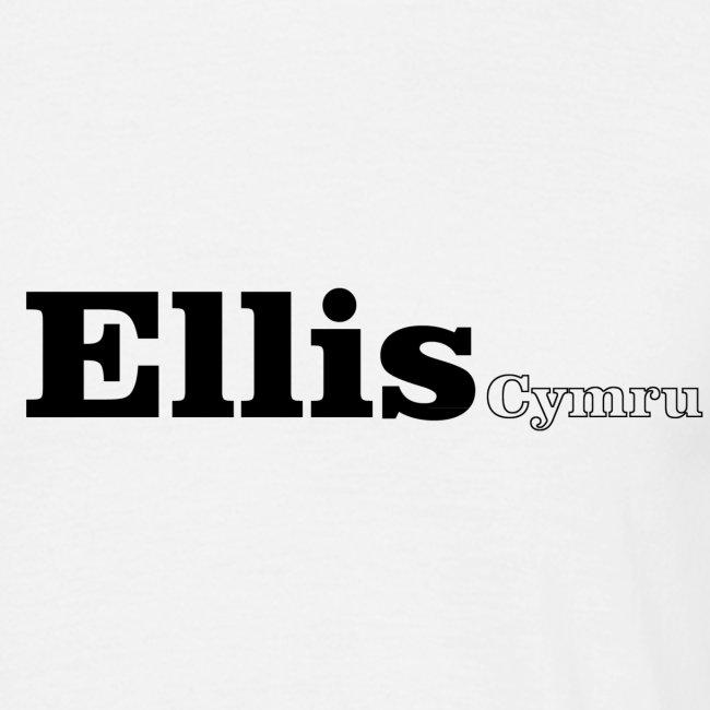 Ellis Cymru black text