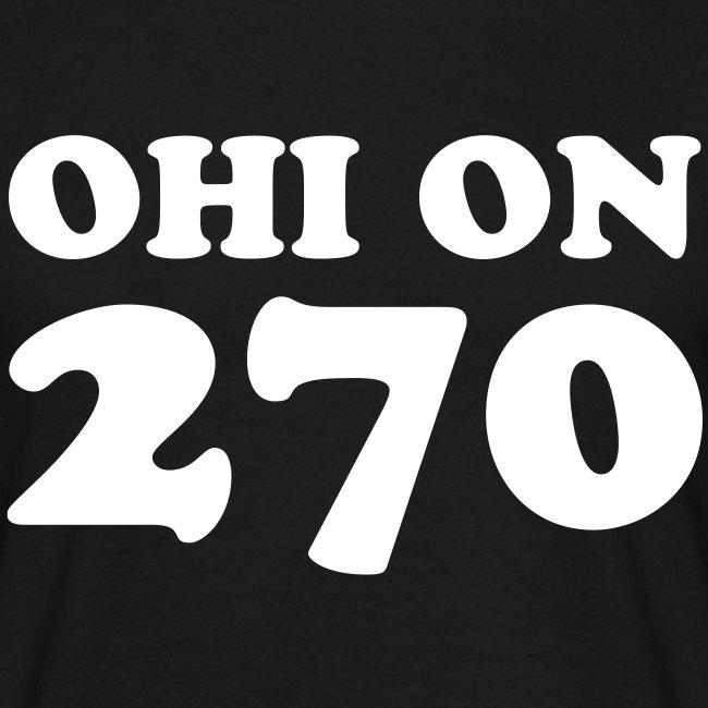 Ohi on 270 t-paita