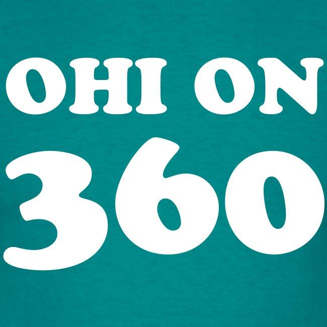 Ohi on 360 t-paita