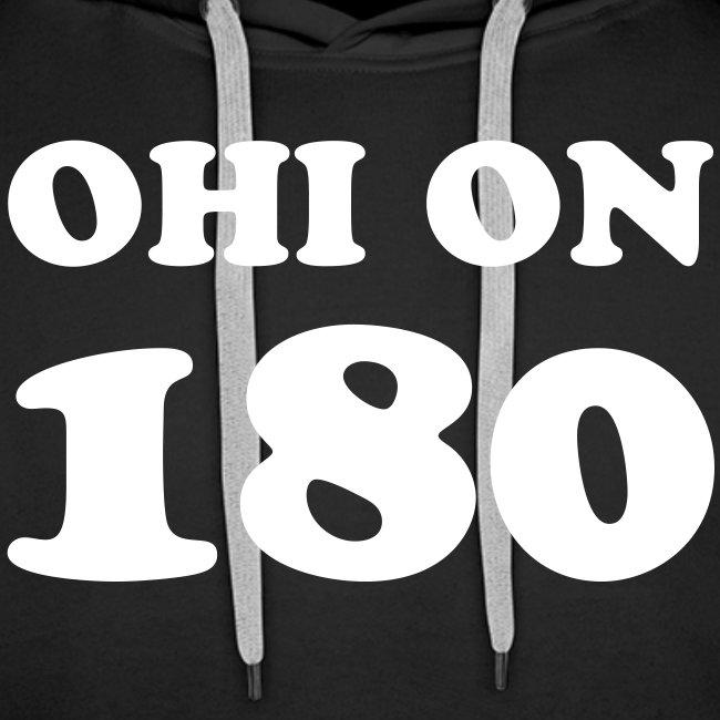 Ohi on 180 huppari