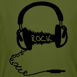 Hoofdtelefoon Audio Wave Motief: ROCK     Hoofdtelefoon, audio, audio wave, het luisteren naar audio wave, muziek, telefoon jack, muzikanten, hifi, rock, rock & roll, hard rock, metal, rockabilly, rock & roll, rocker, schommelen, MP3-speler, wandelen, man - Mannen Bio-T-shirt