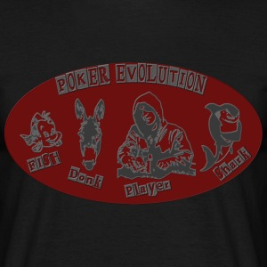 poker_evolution T-shirts - T-shirt Homme