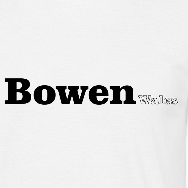 Bowen Wales black text