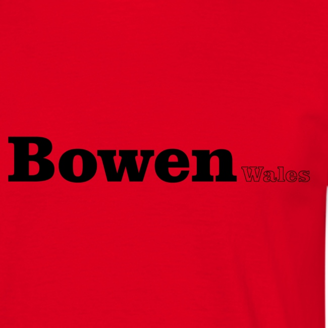 Bowen Wales black text
