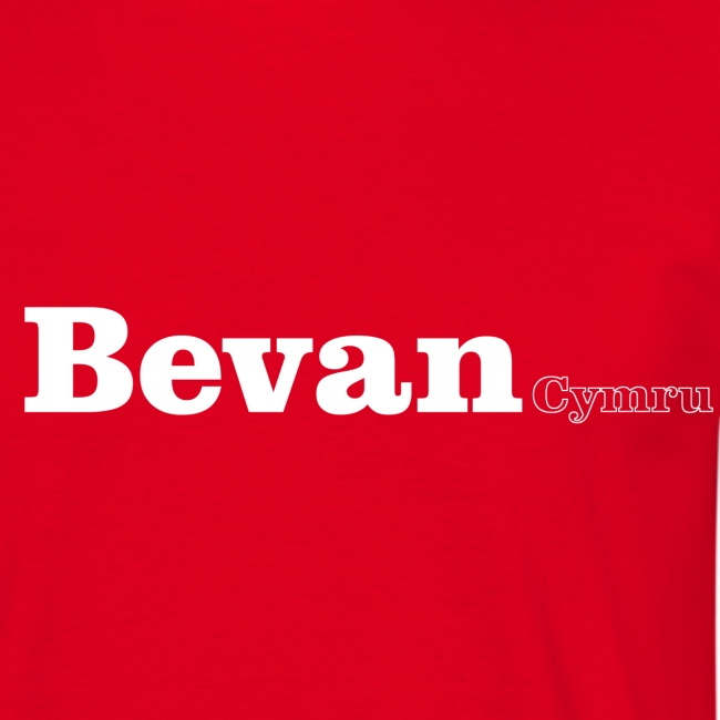 Bevan Cymru white text