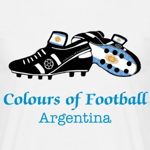 Argentina football and boot T-Shirts - Men's T-Shirt