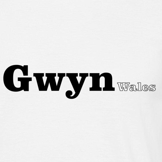 Gwyn Wales black text