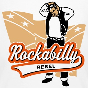 Rockabilly Rebel, T-Shirt - Männer Bio-T-Shirt