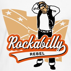 Rockabilly Rebel, T-Shirt - Men's Ringer Shirt