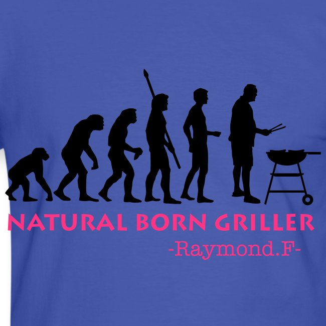 BORN TO GRILL TEE