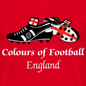 Colours of Fooball England - Classic Tee - Men's T-Shirt